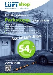 Parkstopp - 180 cm - Neu im Lüft-Shop