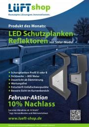 LED Schutzplanken-Reflektoren