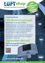 LED-Markierungsnagel September-Aktion