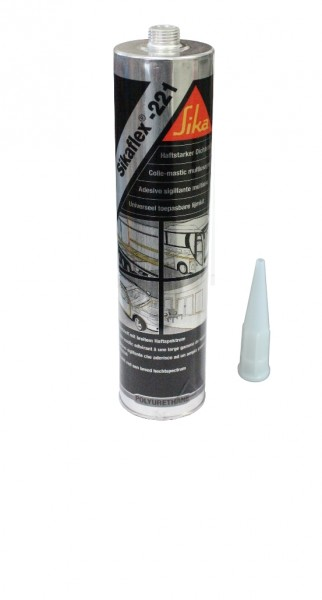Spezial-Klebstoff Sikaflex 221 - Schwarz